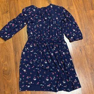 Girls navy floral old navy dress